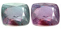alexandrite faceted